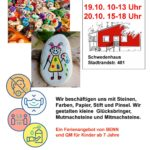 Steinmalerei - Ein Ferienangebot von BENN und Quartiersmanagement für Kinder ab 7 Jahre