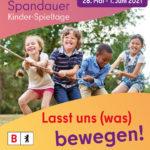 Spandauer Kinder- Spieltage vom 28.5. bis 1.6.2021